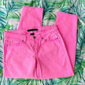 Calvin Klein pink jeans